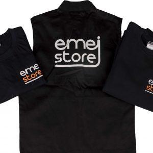 Abbigliamento da lavoro personalizzato utilizzato come divisa in negozio